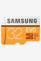 Samsung EVO 32 GB MicroSDHC Memory Card with SD Adapter