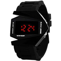 SIMONE Black digital kid s attractive SIMONE006 Watch - For Boys & Girls