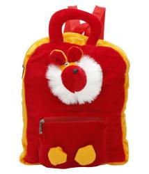 WhiteAsh Cute Teddy School Bag For Kids(Red)