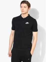 As Nsw Pqatchup Black Polo T-Shirt