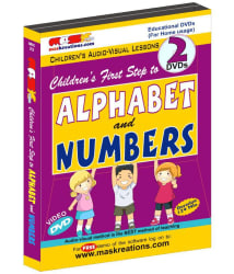 First Step to Alphabet and Numbers DVD