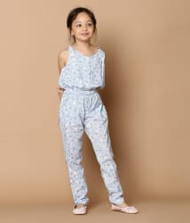 Tiddlywings Girls Cotton Playsuit for weekend outings.