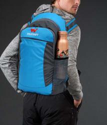Wildcraft Branded Backpack College bag School Bag Blue (22 Litres)