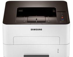 Samsung SL-M2826ND Single Function Laser Printer, white