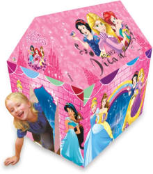 Disney Princess Play tent house for kids of age 3 to 8 years in handle box packing for easy storage Premium quality certified as EN 71 European standard safe for child indoor outdoor toys for kids development toys multicolor colour Includes Pipes Pipe locks Tent (Multicolor)
