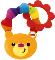 Fisher-Price Fisher price soft ring teether rattle Rattle (Multicolor)
