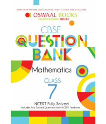 Oswaal CBSE Question Bank Mathematics for Class 7 (March 2018 Exam)