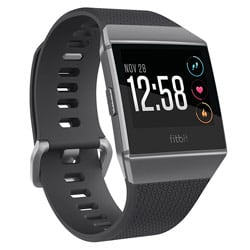 Fitbit Ionic Smartwatch (Charcoal/Smoke Gray)