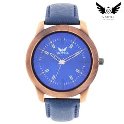 Martell Doran Series Blue Color Dial Analog Watch For Boys(Elegant/Formal Watch)