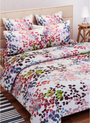 100% Cotton Double Bedsheet With 2 Pillow Covers