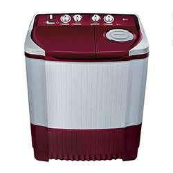 LG 7kg P8073R3FA Top Loading Washing Machine (Burgundy)