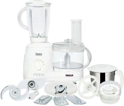 Inalsa fiesta 650 W Food Processor (White)
