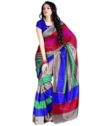 Riytham Fashion Blue Saree