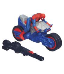 Funskool Ultimate Spider-Man Blast   N Go Spider Cycle Vehicle - Pack of 1, 3+ Years