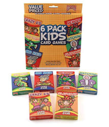 Bicycle Classic Kid  s Card Games (6-Pack)