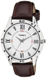 Details about Timex TW002E113 Analog Off-White Dial Men s Watch