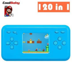 Details about 120 Games Retro Video Games Handheld Console 8 Bit Super Mario