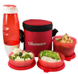 Details about Oliveware Lunch Box Lovely Combo Offer