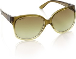 Fastrack Over-sized Sunglasses (Green)