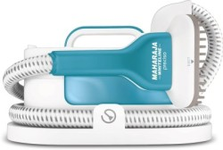 Maharaja Whiteline GS100 Garment Steamer (White & Light Blue)