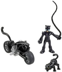 Fisher-Price Imaginext Dc Super Friends Catwoman (Black)