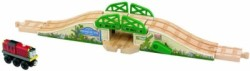 Fisher-Price Thomas Wooden Railway Stone Drawbridge (Multicolor)