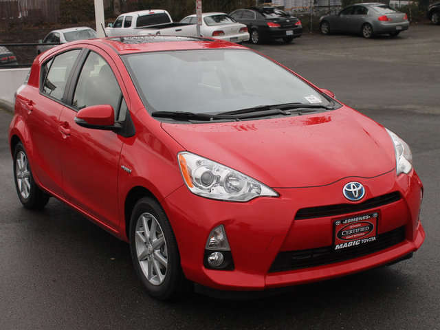 Certified Pre-Owned Toyota Prius c in the Seattle Area at Magic Toyota