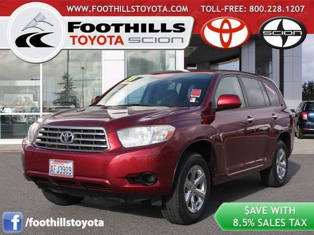 Toyota Highlander for Sale near Mount Vernon at Foothills Toyota