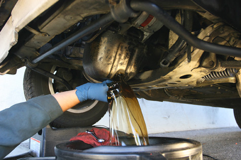 Toyota Oil and Filter Change Service in Burlington at Foothills Toyota