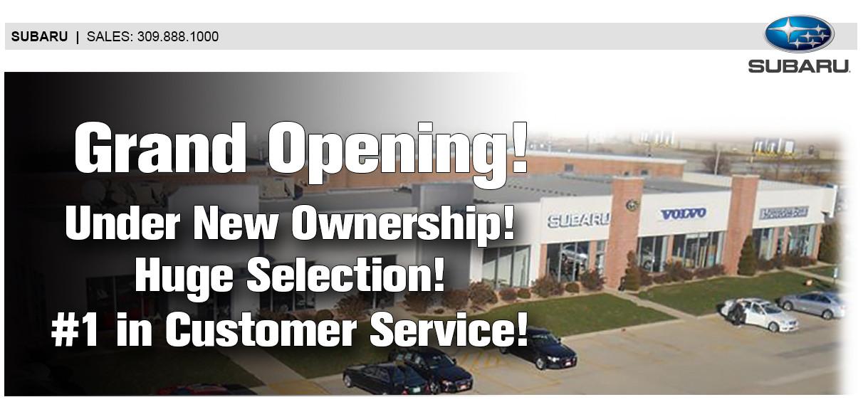 Subaru Dealer Normal Il Bloomington Springfield