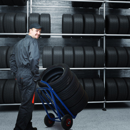 New Tire Installation near Las Colinas at Toyota of Irving