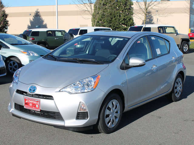 Toyota Prius in Skagit Valley at Foothills Toyota