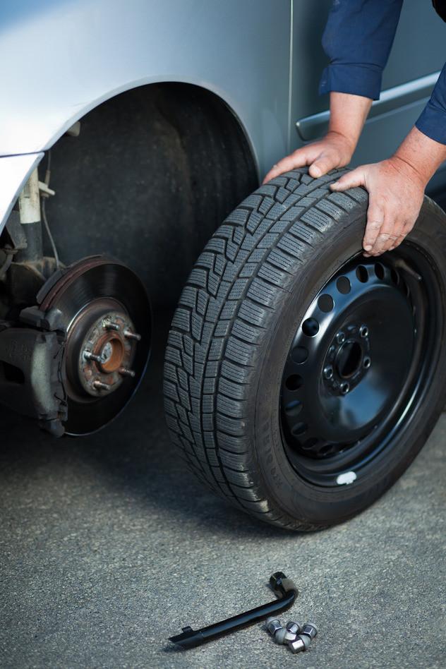 Ford Tire Repair near Liberty Lake at Gus Johnson Ford