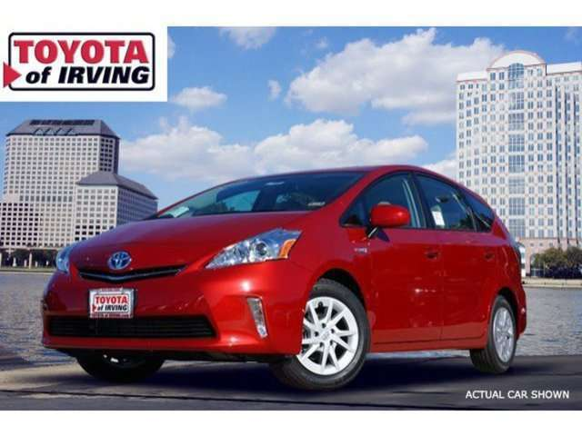 Toyota Prius v in Irving, TX at Toyota of Irving