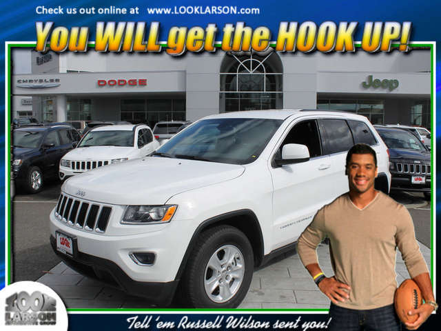 2014 Jeep Grand Cherokee near Tacoma at Larson Chrysler Jeep Dodge Ram