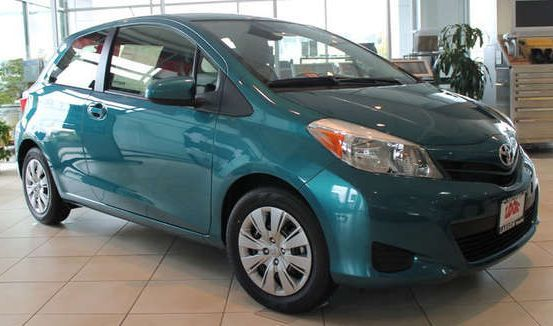 Trims of the 2014 Toyota Yaris near Olympia at Toyota of Tacoma