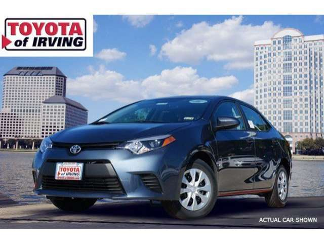 Trim Levels of the 2014 Toyota Corolla near Arlington at Toyota of Irving