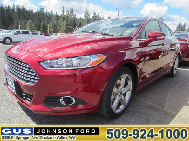 What Are the Trims of the 2014 Ford Fusion near Post Falls? at Gus Johnson Ford