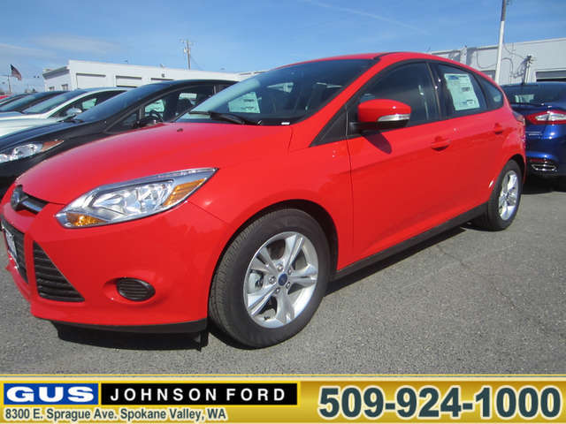 What Are the Trims of the 2014 Ford Focus near Liberty Lake? at Gus Johnson Ford