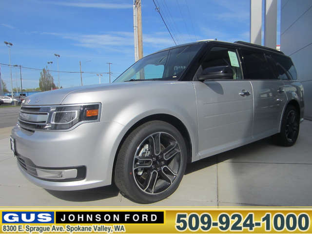 What Are the Trims of the 2014 Ford Flex near Pullman? at Gus Johnson Ford