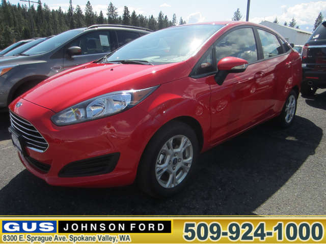 What Are the Trims of the 2014 Ford Fiesta near Spokane? at Gus Johnson Ford