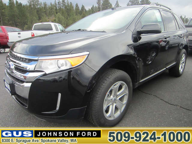 What Are the Trims of the 2014 Ford Edge near Pullman? at Gus Johnson Ford