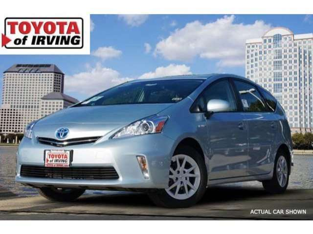 Trims of the 2014 Toyota Prius v for Sale near Dallas at Toyota of Irving