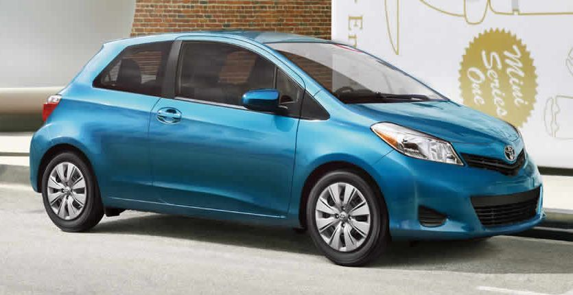 2014 Toyota Yaris Leasing near Federal Way at Toyota of Tacoma