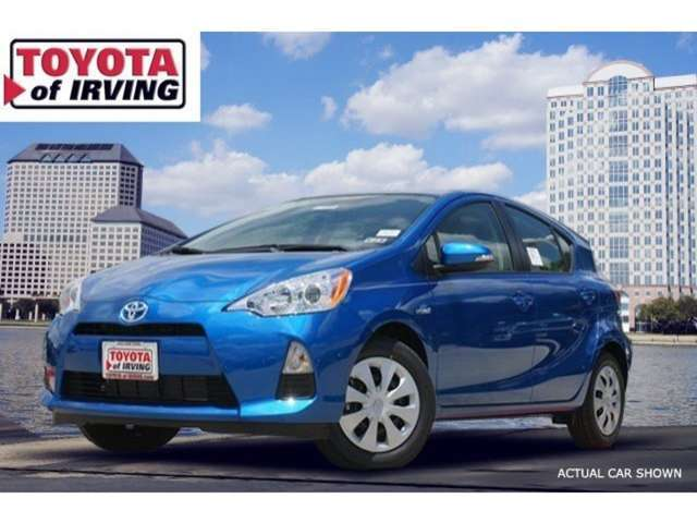 Finance a New 2014 Prius c near Las Colinas at Toyota of Irving