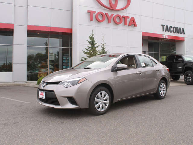 Specs of the 2014 Corolla for Sale near Puyallup at Toyota of Tacoma