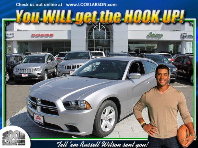 Finance a 2014 Charger near Puyallup at Larson Chrysler Jeep Dodge Ram