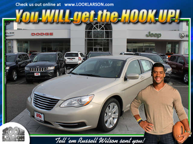 Finance a 2014 Chrysler 200 near Puyallup at Larson Chrysler Jeep Dodge Ram