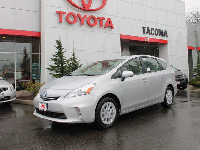Specs of the 2014 Prius v for Sale near Seattle at Toyota of Tacoma