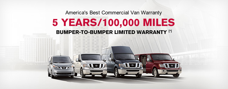 Pine Belt Nissan, 5 years/100000 miles warranty